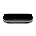 TP-LINK TL-SG1005D Unmanaged network switch Gigabit Ethernet (10/100/1000) Black network switch