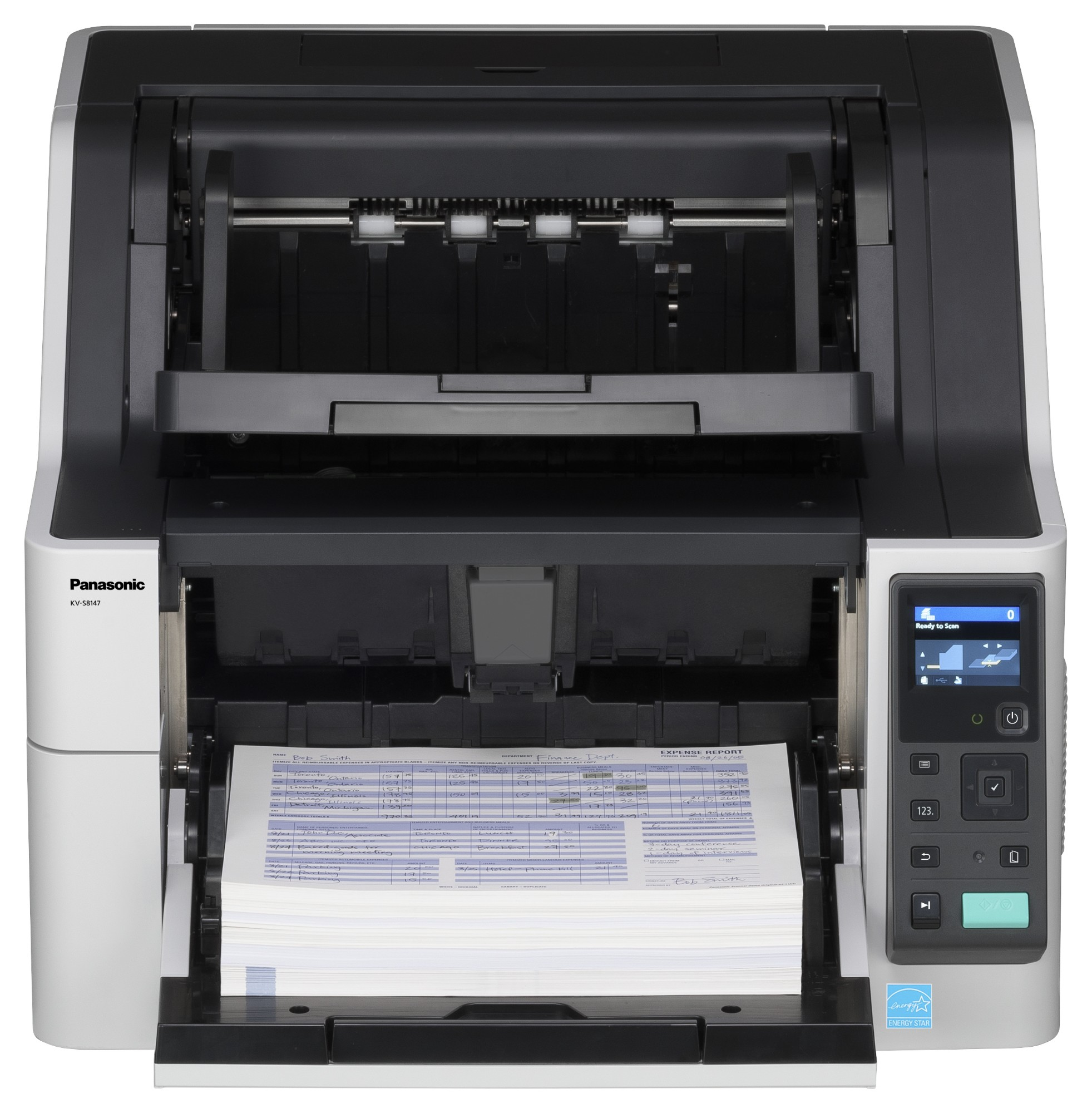 Panasonic KV-S8147 600 x 1200 DPI ADF scanner Black,White A3