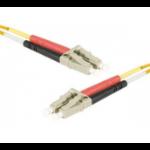 EXC 391180 fibre optic cable 3 m LSZH OM2 LC/UPC Orange