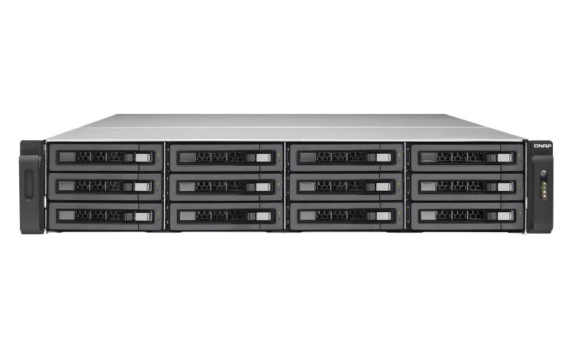 QNAP TES-1885U Ethernet LAN Rack (2U) Aluminium,Black NAS