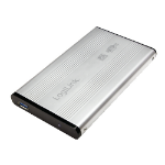 "LogiLink UA0106A storage drive enclosure 2.5"" Silver USB powered"