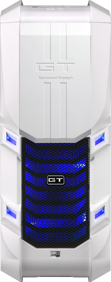 Aerocool GT-S Full-Tower White computer case
