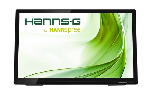 "Hannspree Hanns.G HT273HPB 27"" 1920 x 1080pixels Multi-touch Table Black touch screen monitor"