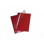 GBC LeatherGrain Thermal Binding Covers 1.5mm Red (100)