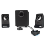 Logitech Z213 2.1channels 7W Black speaker set