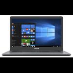 """ASUS A705MA-BX157T Grijs Notebook 43,9 cm (17.3"""") 1600 x 900 Pixels Intel® Celeron® N 4 GB DDR4-SDRAM 256 GB SSD Windows 10 Home"""