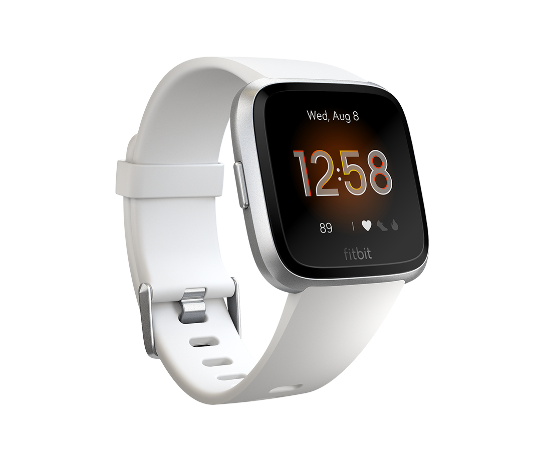 "Fitbit Versa Lite smartwatch Silver,White LCD 3.4 cm (1.34"")"