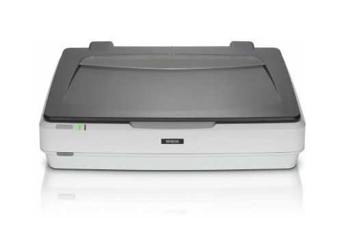 Epson Expression 12000XL 2400 x 4800 DPI Flatbed scanner Gray, White A3
