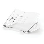 "Fellowes Clarity Notebook stand Transparent 38.1 cm (15"")"