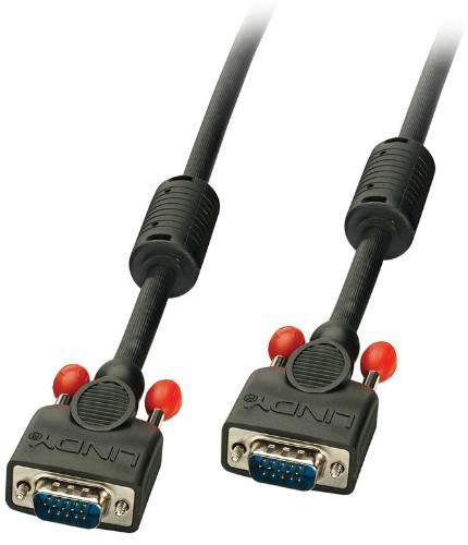 Lindy 36373 VGA cable 2 m VGA (D-Sub) Black