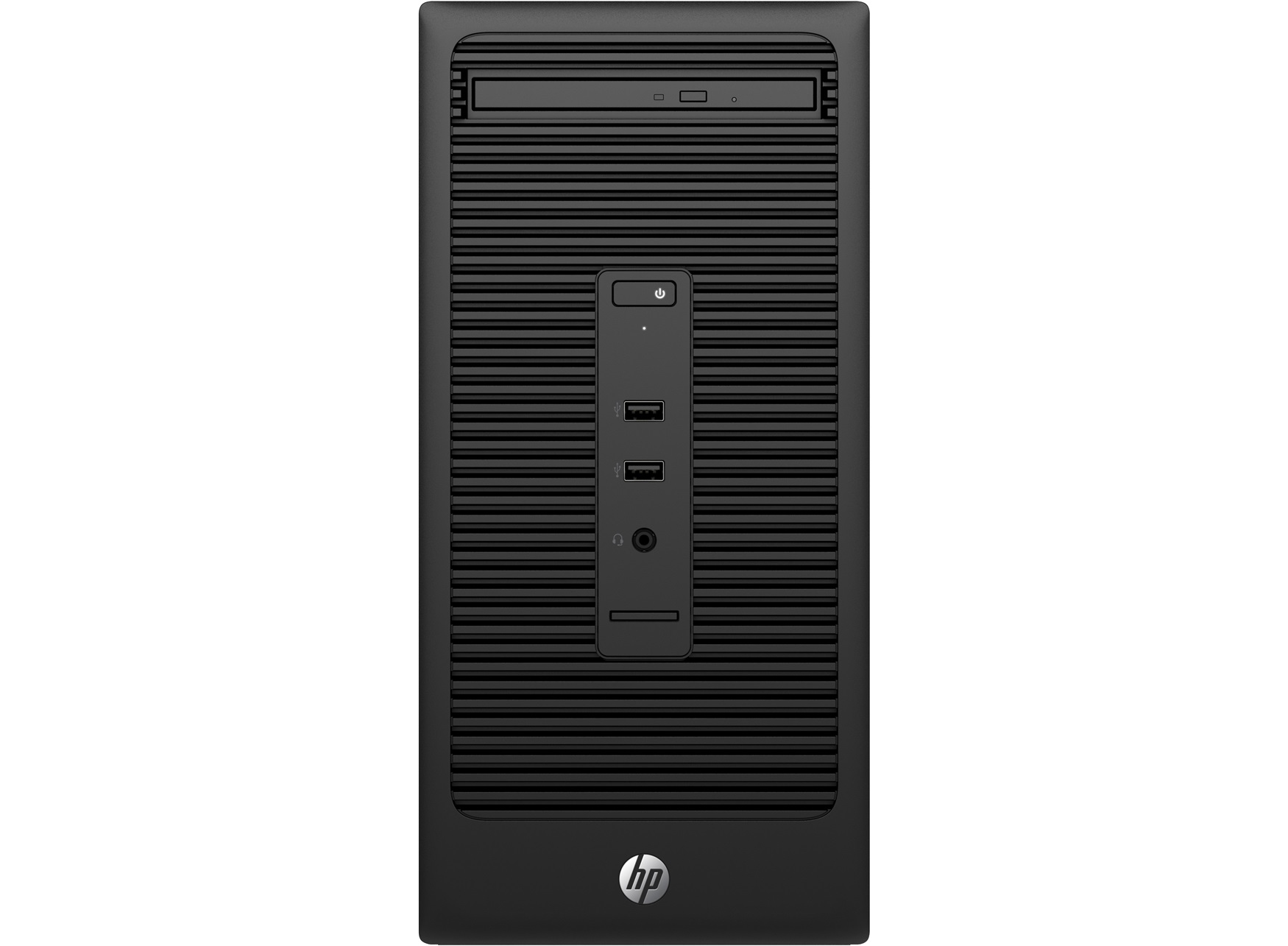 HP 200 280 G2 MT 3.3GHz G4400 Micro Tower Black