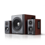 Edifier S350DB speaker set 2.1 channels 150 W Black,Wood