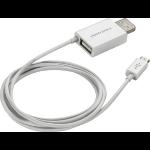 "POLY 201885-02 USB cable 26"" (0.66 m) USB 2.0 USB A Micro-USB B White"
