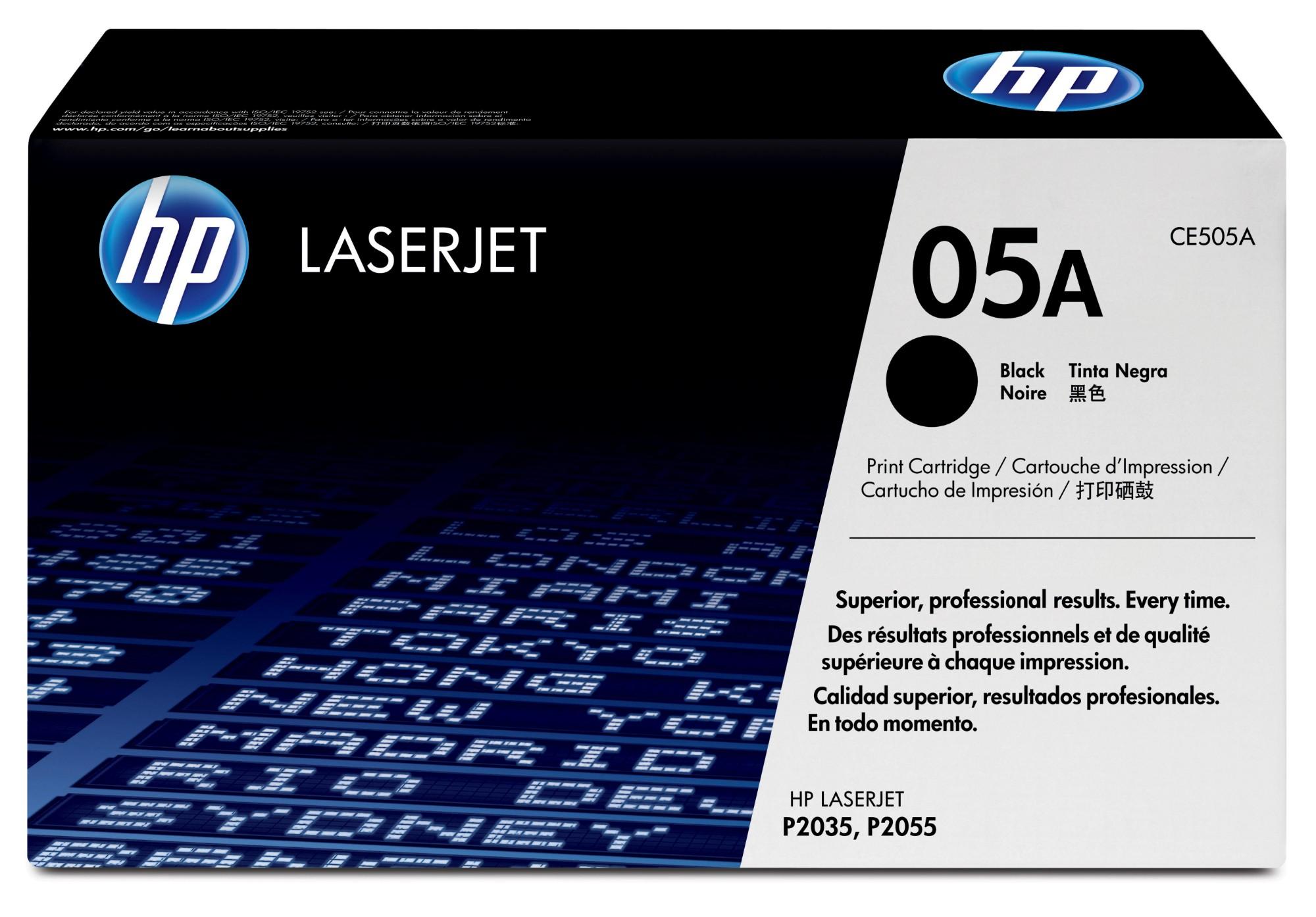 HP 05A Origineel Zwart 1 stuk(s)