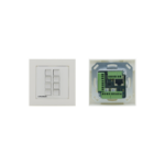 Kramer Electronics RC-208 push-button panel White