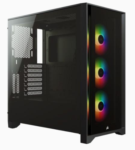 Corsair iCUE 4000X RGB Midi Tower Black