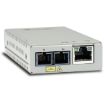 Allied Telesis AT-MMC200/SC-960 network media converter 100 Mbit/s 1310 nm Multi-mode Grey