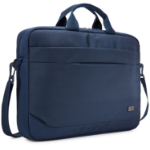 "Case Logic Advantage 15,6"" Attaché notebook case 39.6 cm (15.6"") Messenger case Blue"