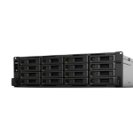 Synology RackStation RS2818RP+ Ethernet LAN Rack (3U) Black, Grey NAS