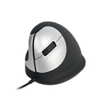 R-Go Tools HE Mouse, Ergonomic mouse, Medium (165-195mm), Left Handed, wired