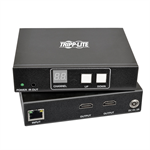 Tripp Lite 2-Port HDMI Audio/Video with RS-232 Serial and IR Control over IP Extender Kit, 1920 x 1080 (1080p), 656 ft. (200 m), TAA