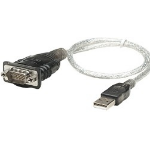 Astrotek RS232/USB 2.0 Converter USB 2.0 A RS-232 cable interface/gender adapter