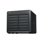 Synology DX1215 disk array 168 TB Tower Black