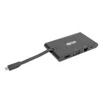 Tripp Lite U442-DOCK3-B notebook dock/port replicator Wired USB 3.1 (3.1 Gen 2) Type-C Black