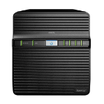 Synology DiskStation DS420J data-opslag-server NAS Compact Ethernet LAN Zwart RTD1296