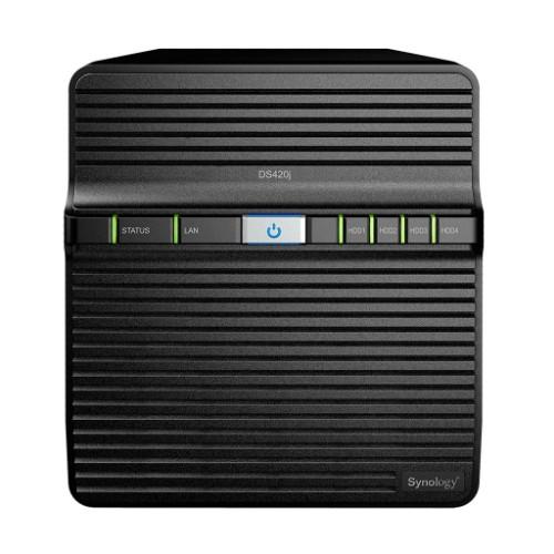 Synology DiskStation DS420J NAS/storage server Compact Ethernet LAN Black RTD1296
