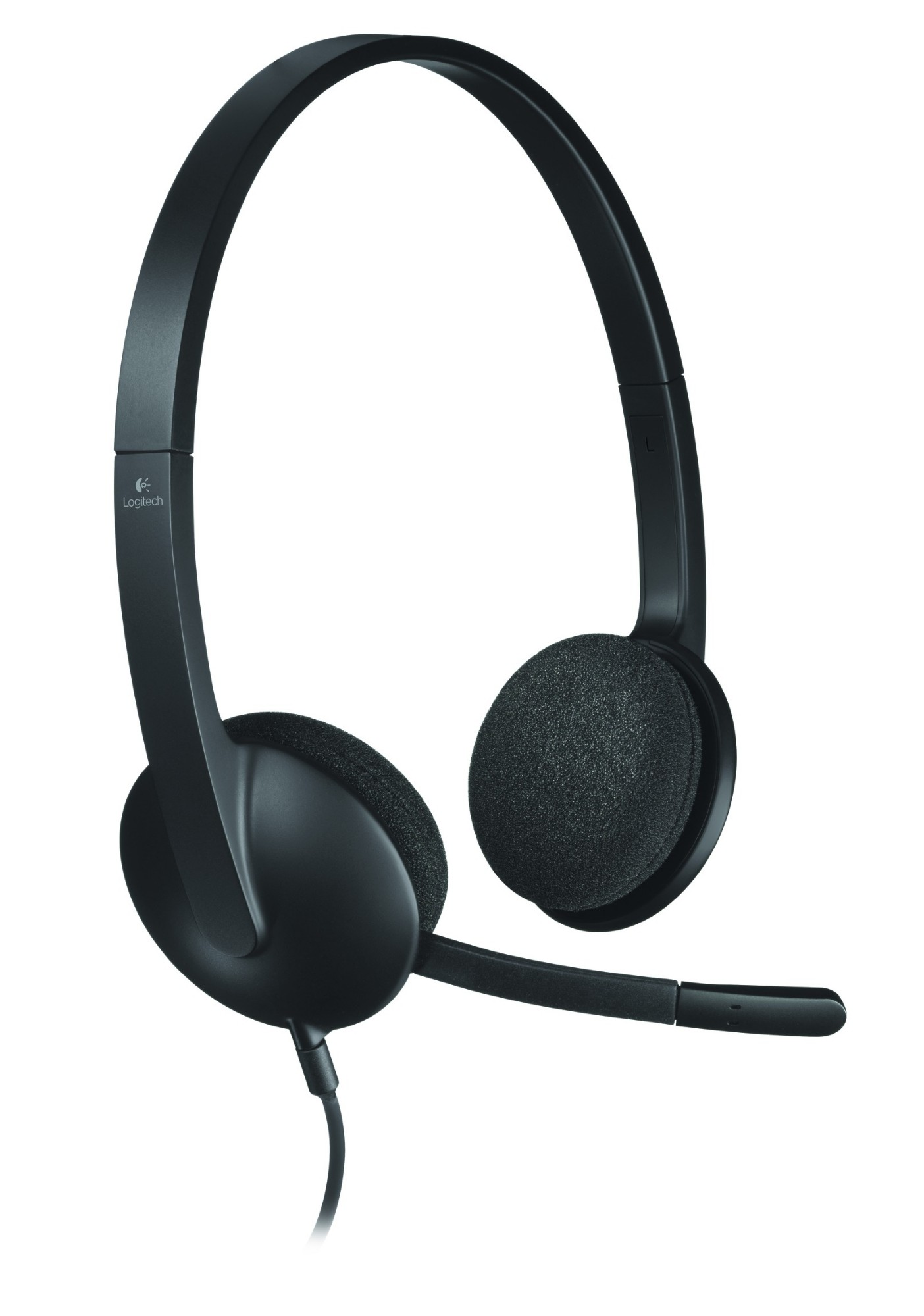 Logitech H340 Binaural Head-band Black headset
