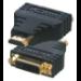 MCL DVI-D / HDMI Adapter Negro