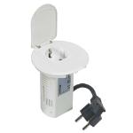 C2G 80854 Schuko White socket-outlet