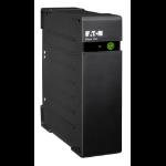 Eaton Ellipse ECO 650 USB DIN 650VA 4AC outlet(s) Rackmount Black uninterruptible power supply (UPS)