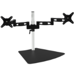 "Amer 2EZ 28"" Aluminium, Black flat panel desk mount"