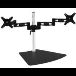 "Amer 2EZ monitor mount / stand 71.1 cm (28"") Aluminum, Black"