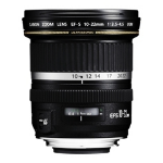 Canon EF-S 10-22mm f/3.5-4.5 SLR Super wide lens