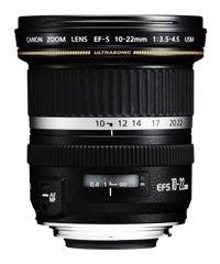 Zoom Lens Ef-s 10-22mm F/3.5-4.5 Wide Angle Usm (9518a007aa)