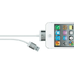 Belkin F8J041CW2M-WHT mobile phone cable USB A Apple 30-p White 2 m