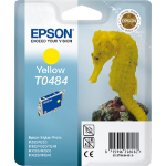 Epson C13T04844010 (T0484) Ink cartridge yellow, 400 pages @ 5% coverage, 13ml