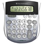 Texas Instruments TI-1795 SV Mini Desktop Calculator