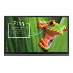 "Benq 9H.F4ATK.DE3 signage display Interactive flat panel 190.5 cm (75"") LED 4K Ultra HD Black Touchscreen"