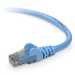 Belkin Cat6 Snagless Patch Cable - 3ft networking cable 0.90 m Blue