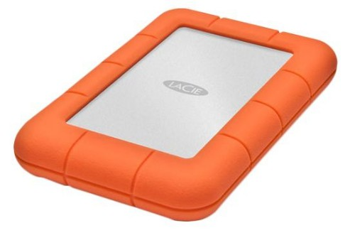 "LaCie LAC9000298 2TB Rugged Mini USB 3.0 2.5"" Portable External Hard Drive HDD"