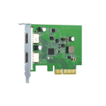 QNAP QXP-10G2U3A interface cards/adapter USB 3.2 Gen 2 (3.1 Gen 2) Internal