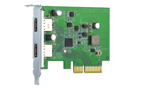 QNAP QXP-10G2U3A interface cards/adapter USB 3.2 Gen 2 (3.1 Gen 2) Internal