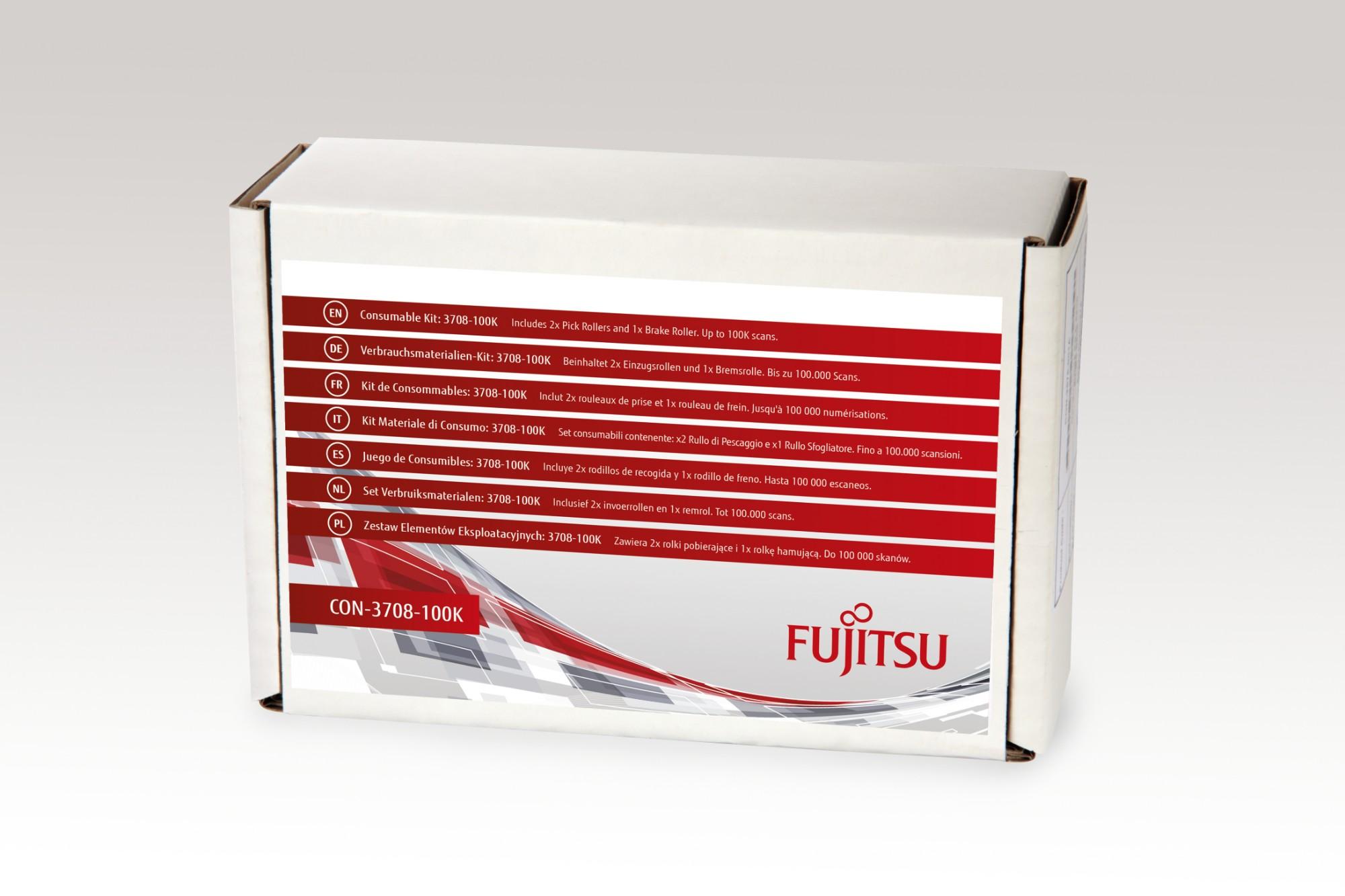FUJITSU 3708-100K CONSUMABLE KIT SCANNER