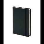 Silvine Executive Softfeel Notebook A6 Black