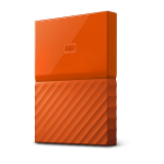 Western Digital My Passport external hard drive 3000 GB Orange