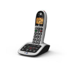 British Telecom BT 4600 Premium Nuisance Call Blocker Single DECT telephone Caller ID Black, Silver